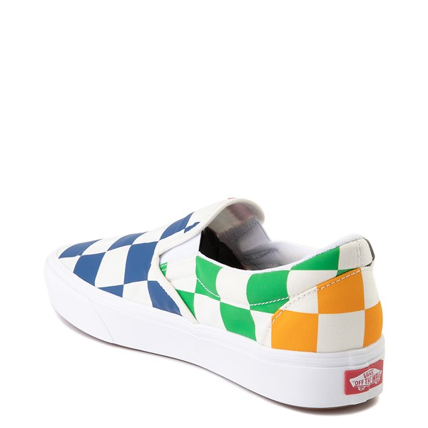 alternate image alternate view Vans Slip On ComfyCush® Big Checkerboard Skate Shoe - MultiALT2