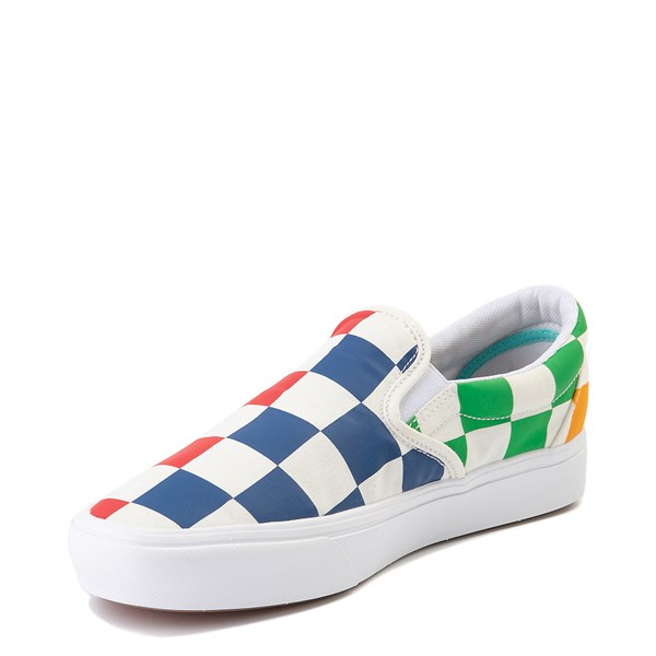 alternate image alternate view Vans Slip On ComfyCush® Big Checkerboard Skate Shoe - MultiALT3