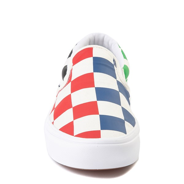 alternate image alternate view Vans Slip On ComfyCush® Big Checkerboard Skate Shoe - MultiALT4