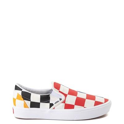 Main view of Vans Slip On ComfyCush® Big Checkerboard Skate Shoe - Multi
