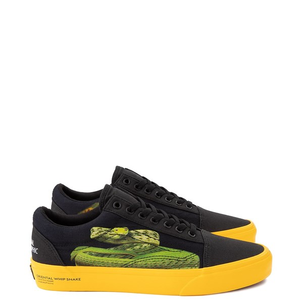 Vans x National Geographic Old Skool Photo Ark Skate Shoe - Black