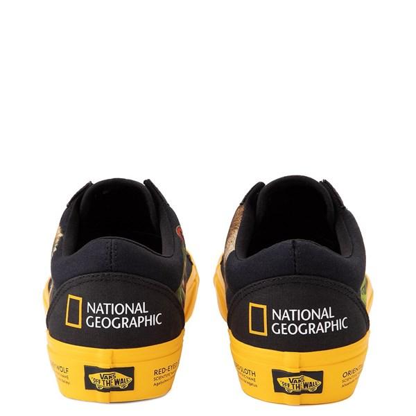 alternate image alternate view Vans x National Geographic Old Skool Photo Ark Skate Shoe - BlackALT6
