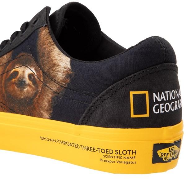 alternate image alternate view Vans x National Geographic Old Skool Photo Ark Skate Shoe - BlackALT8