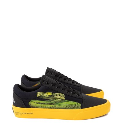Main view of Vans x National Geographic Old Skool Photo Ark Skate Shoe - Black