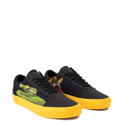 Alternate view of Vans x National Geographic Old Skool Photo Ark Skate Shoe - Black