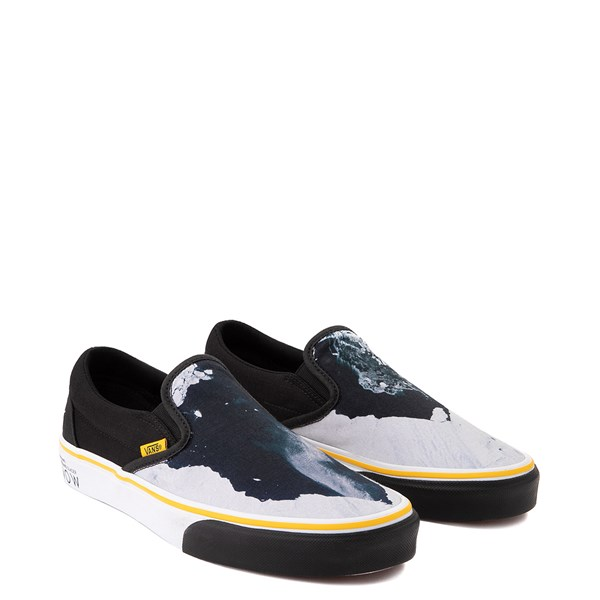 alternate image alternate view Vans x National Geographic Slip On Glaciers Skate Shoe - BlackALT1
