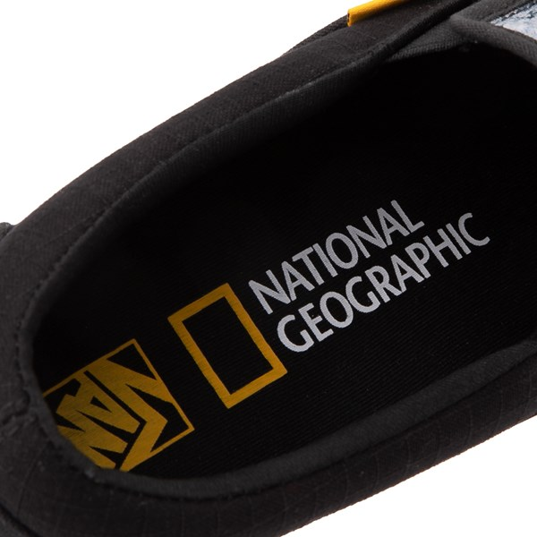 alternate image alternate view Vans x National Geographic Slip On Glaciers Skate Shoe - BlackALT10