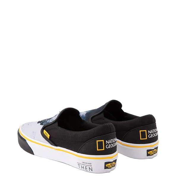 alternate image alternate view Vans x National Geographic Slip On Glaciers Skate Shoe - BlackALT2