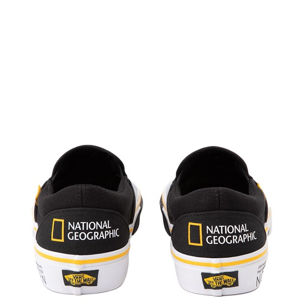 alternate image alternate view Vans x National Geographic Slip On Glaciers Skate Shoe - BlackALT7