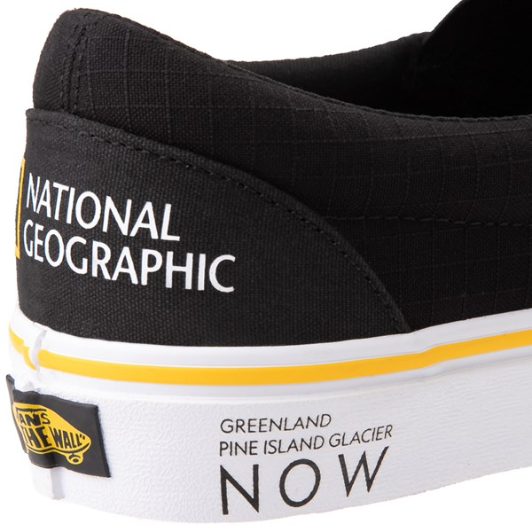 alternate image alternate view Vans x National Geographic Slip On Glaciers Skate Shoe - BlackALT9