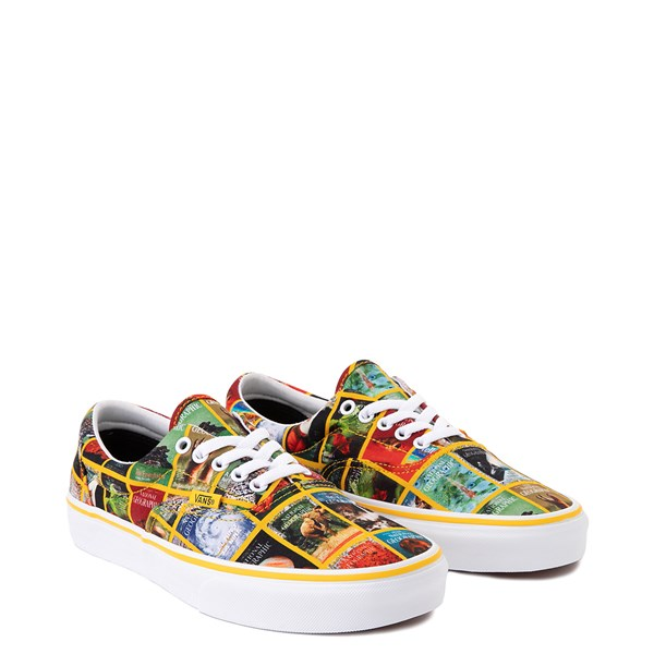 alternate image alternate view Vans x National Geographic Era Covers Skate Shoe - MulticolorALT1