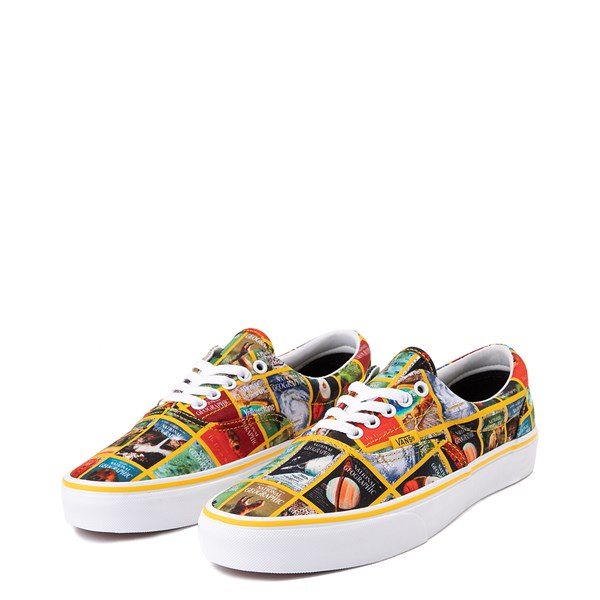 alternate image alternate view Vans x National Geographic Era Covers Skate Shoe - MulticolorALT3
