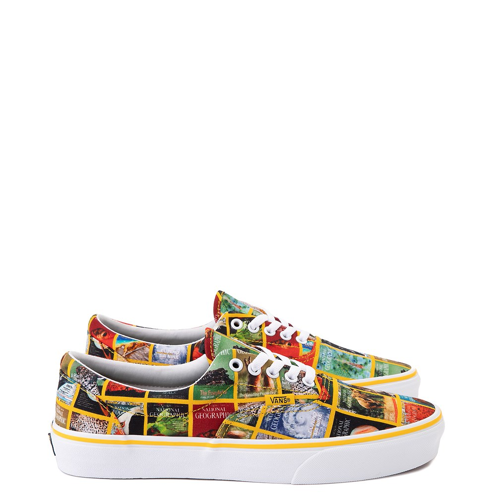 Vans x National Geographic Era Covers Skate Shoe - Multicolor