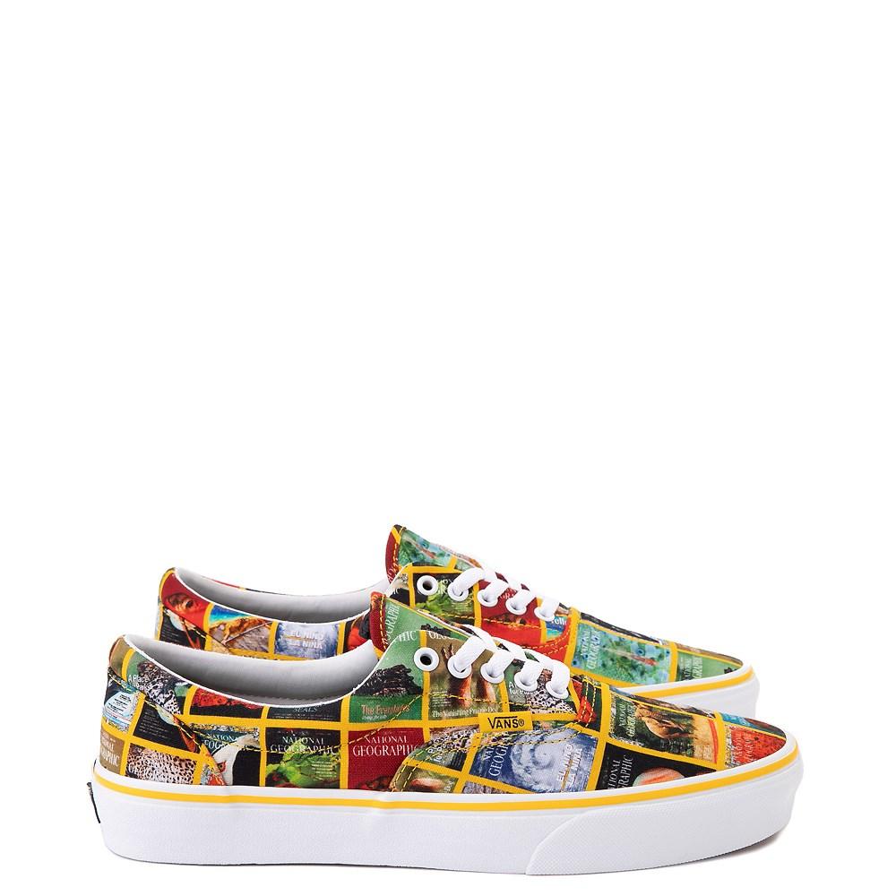 Vans x National Geographic Era Covers Skate Shoe - Multicolor