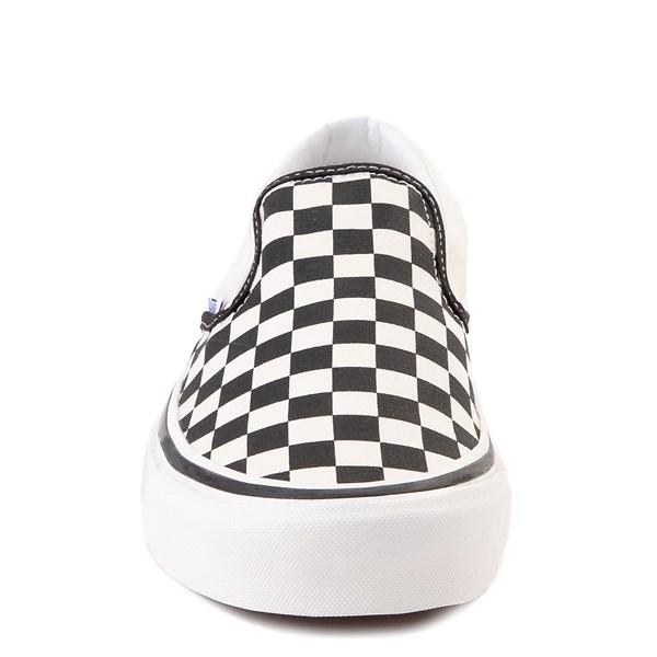 alternate image alternate view Vans Anaheim Factory Slip On Fast Times Checkerboard Skate Shoe - Black / WhiteALT4