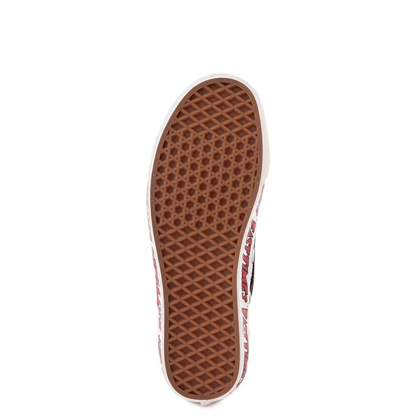 alternate image alternate view Vans Anaheim Factory Slip On Fast Times Checkerboard Skate Shoe - Black / WhiteALT5