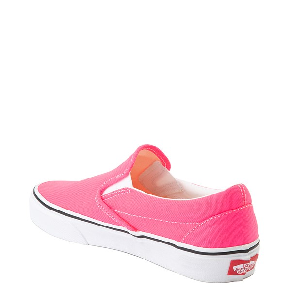 alternate image alternate view Vans Slip On Skate Shoe - Neon PinkALT1
