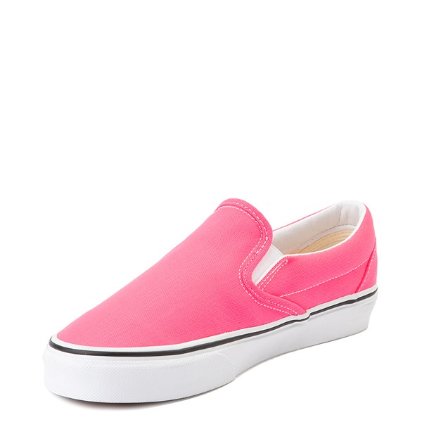 alternate image alternate view Vans Slip On Skate Shoe - Neon PinkALT2