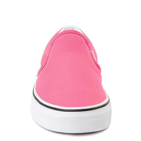 alternate image alternate view Vans Slip On Skate Shoe - Neon PinkALT4