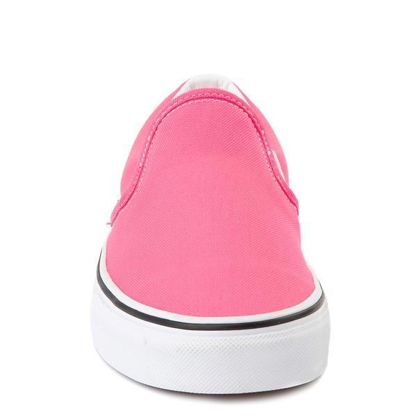 alternate image alternate view Vans Slip On Skate Shoe - Neon PinkALT4