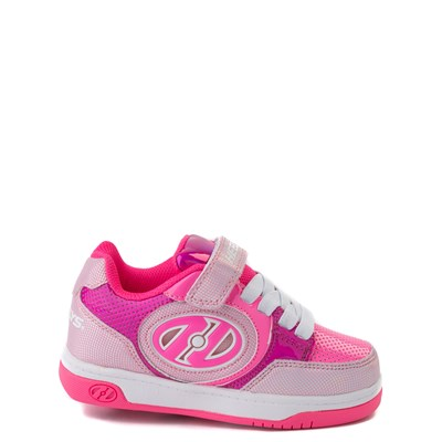 Main view of Heelys Plus X2 Skate Shoe - Little Kid / Big Kid - Fuchsia