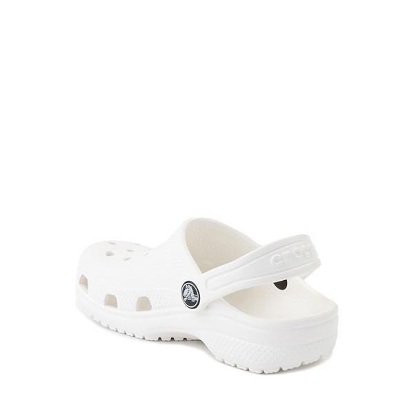 alternate image alternate view Crocs Classic Clog Sandal - Baby / Toddler / Little Kid - WhiteALT1