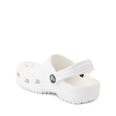 Alternate view of Crocs Classic Clog Sandal - Baby / Toddler / Little Kid - White