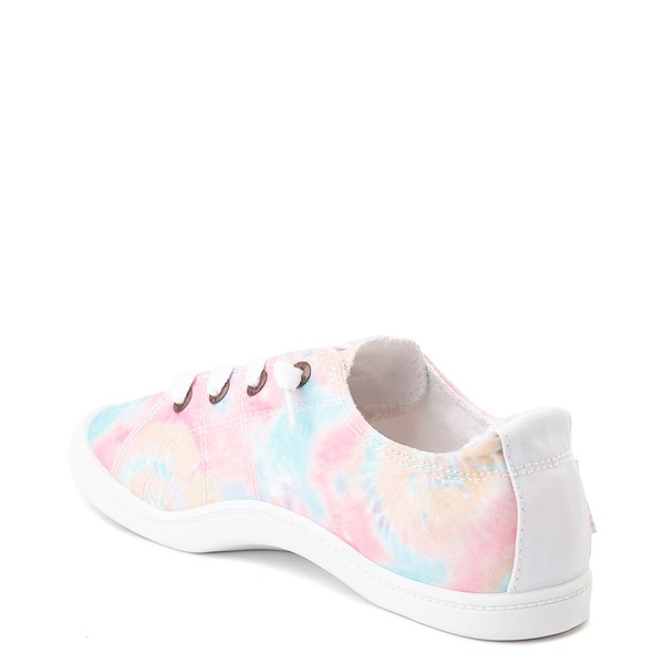 alternate image alternate view Womens Roxy Bayshore Slip On Casual Shoe - Tie DyeALT1