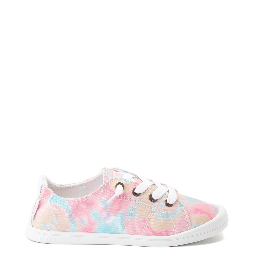 Womens Roxy Bayshore Slip On Casual Shoe - Tie Dye