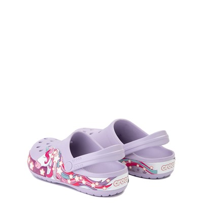 Alternate view of Crocs Funlab Unicorn Clog - Baby / Toddler / Little Kid - Lavender