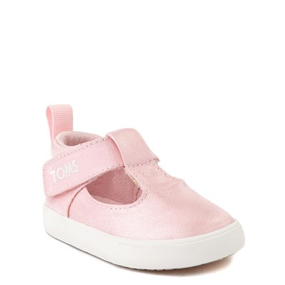 Alternate view of TOMS Early Walker Joon Casual Shoe - Baby / Toddler - Pink Glitz