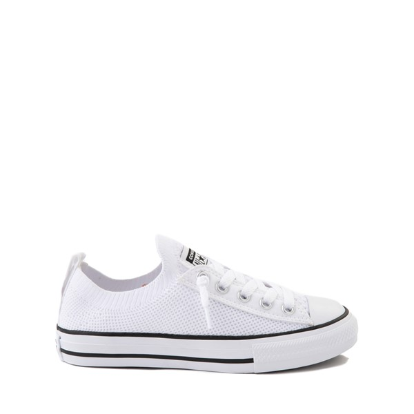 Main view of Converse Chuck Taylor All Star Lo Knit Sneaker - Little Kid - White