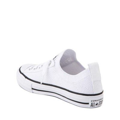Alternate view of Converse Chuck Taylor All Star Lo Knit Sneaker - Little Kid - White