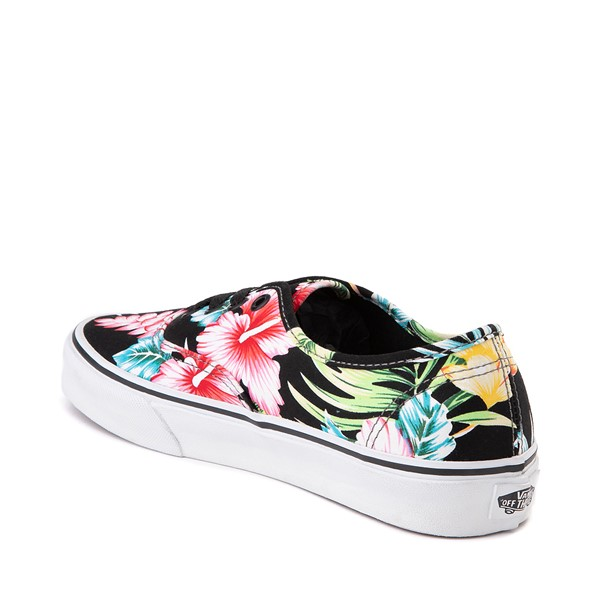 alternate image alternate view Vans Authentic Hawaiian Floral Skate Shoe - BlackALT1