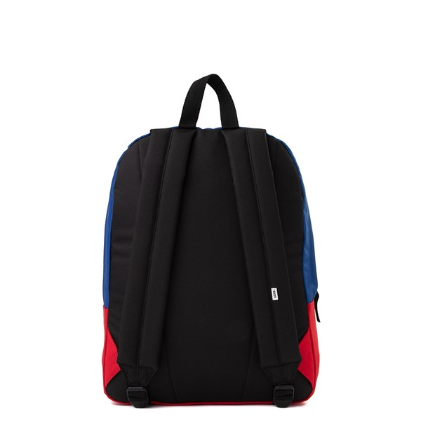 alternate image alternate view Vans Realm Patchy Backpack - MultiALT1