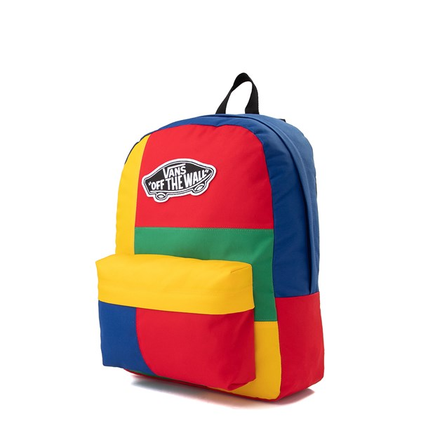 alternate image alternate view Vans Realm Patchy Backpack - MultiALT2