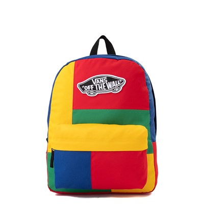 Main view of Vans Realm Patchy Backpack - Multi