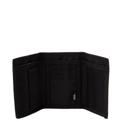 Alternate view of Vans Slipped Tri-Fold Wallet - Black