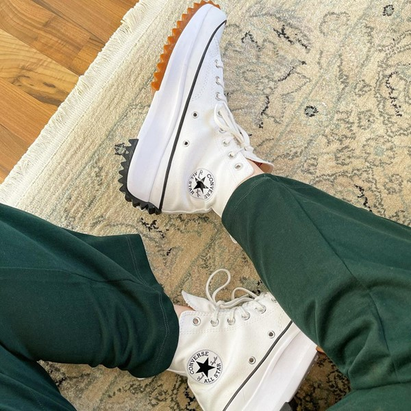 alternate image alternate view Converse Run Star Hike Platform Sneaker - White / Black / GumALT1B