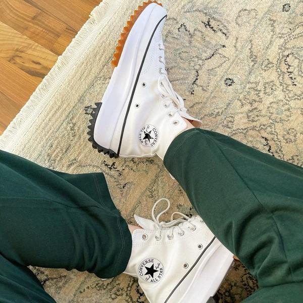 alternate image alternate view Converse Run Star Hike Platform Sneaker - White / Black / GumALT1B