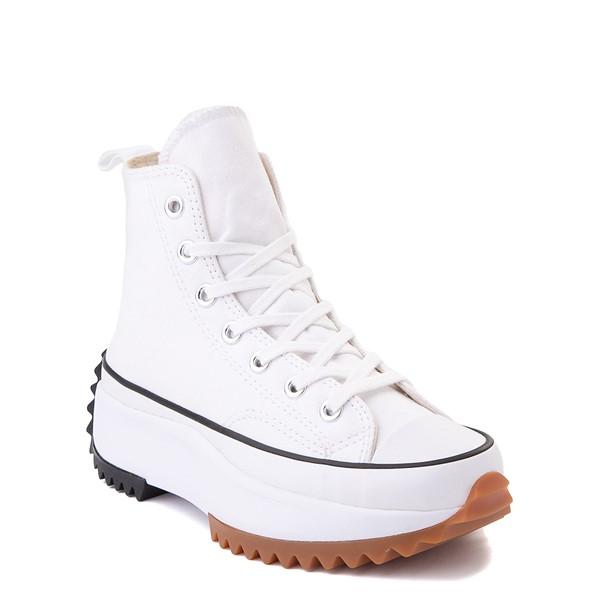 alternate image alternate view Converse Run Star Hike Platform Sneaker - White / Black / GumALT1C