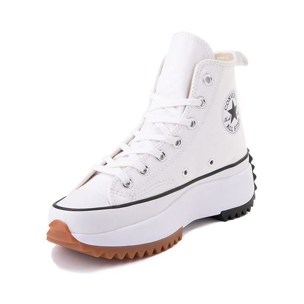 alternate image alternate view Converse Run Star Hike Platform Sneaker - White / Black / GumALT2