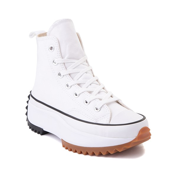 alternate image alternate view Converse Run Star Hike Platform Sneaker - White / Black / GumALT5