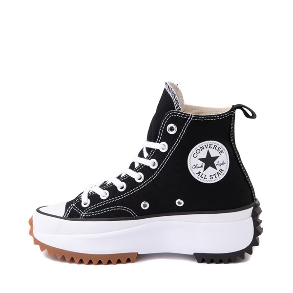 alternate image alternate view Converse Run Star Hike Platform Sneaker - Black / White / GumALT1