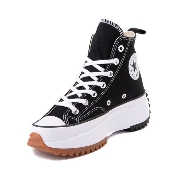 alternate image alternate view Converse Run Star Hike Platform Sneaker - Black / White / GumALT2
