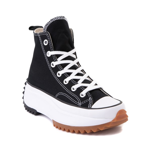 alternate image alternate view Converse Run Star Hike Platform Sneaker - Black / White / GumALT5
