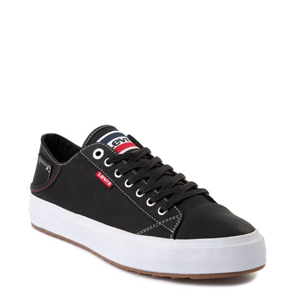 alternate image alternate view Mens Levi's Olympic Neil Casual Shoe - Black DenimALT1