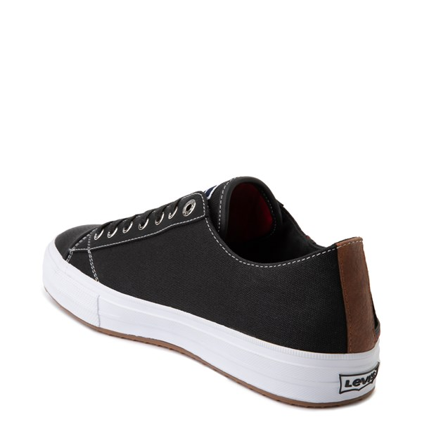 alternate image alternate view Mens Levi's Olympic Neil Casual Shoe - Black DenimALT2