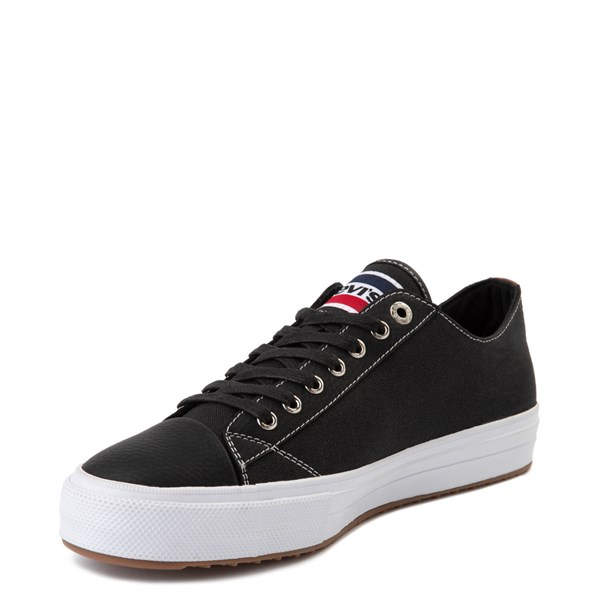 alternate image alternate view Mens Levi's Olympic Neil Casual Shoe - Black DenimALT3