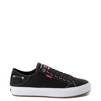 Main view of Mens Levi's Olympic Neil Casual Shoe - Black Denim